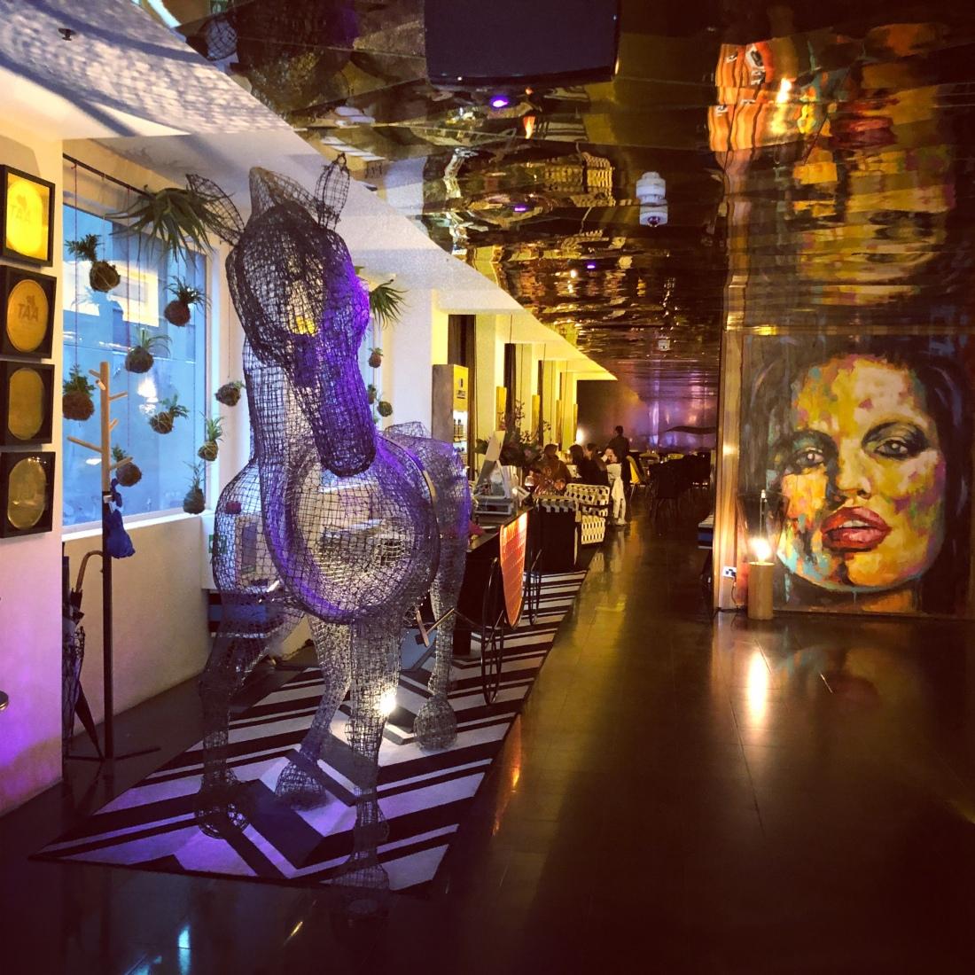 Hotel foyer, Adelphi Hotel, Melbourne