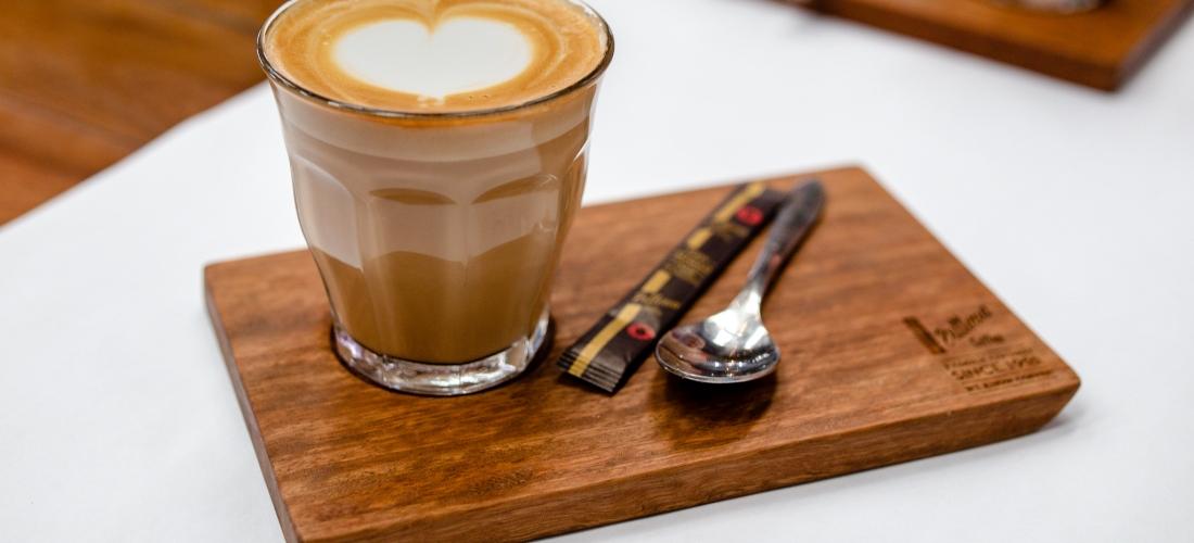Frankies Food Factory Latte