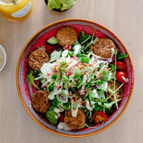 Left of Field Falafel Salad Bowl