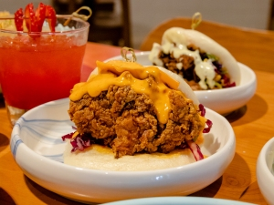 Alder Inn Fried Chicken Bao