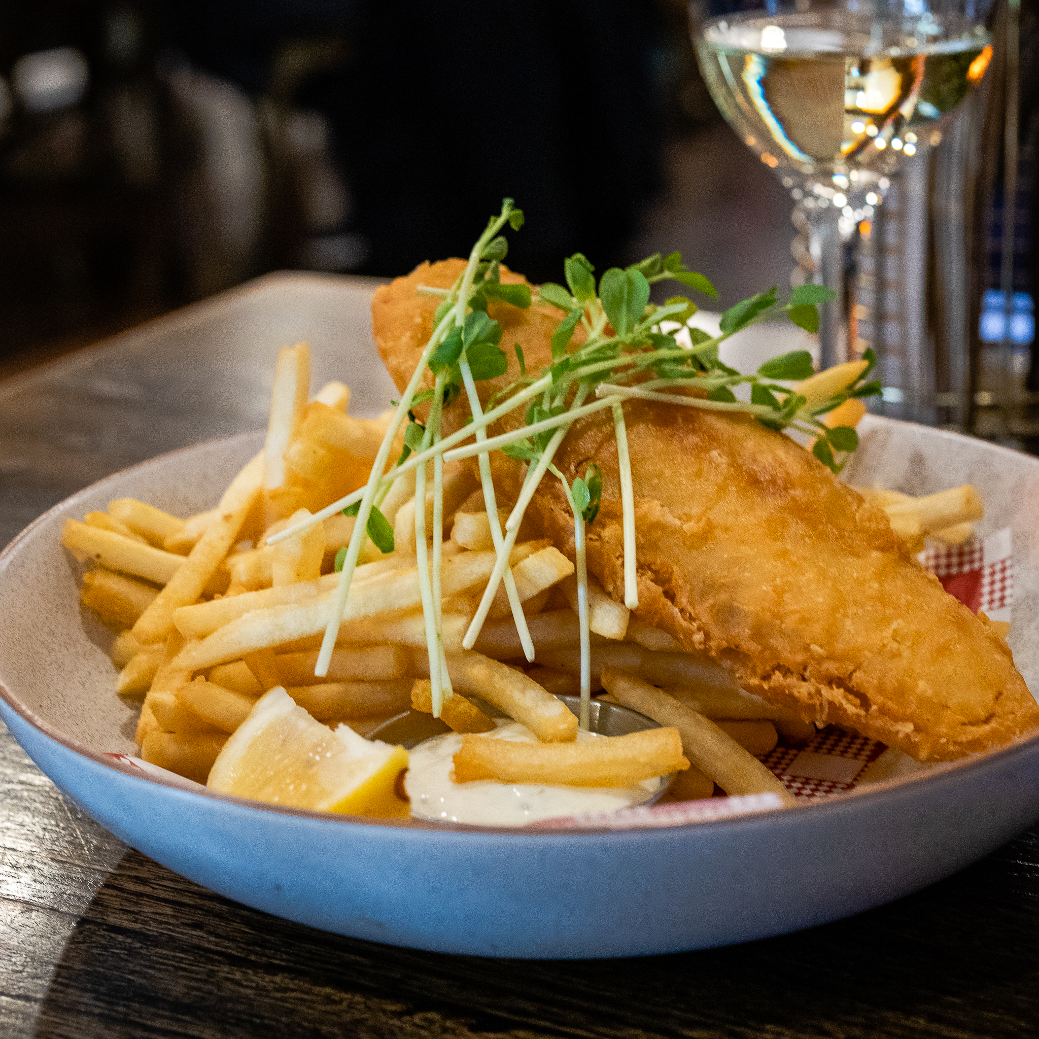 The Burrow Fish & Chips