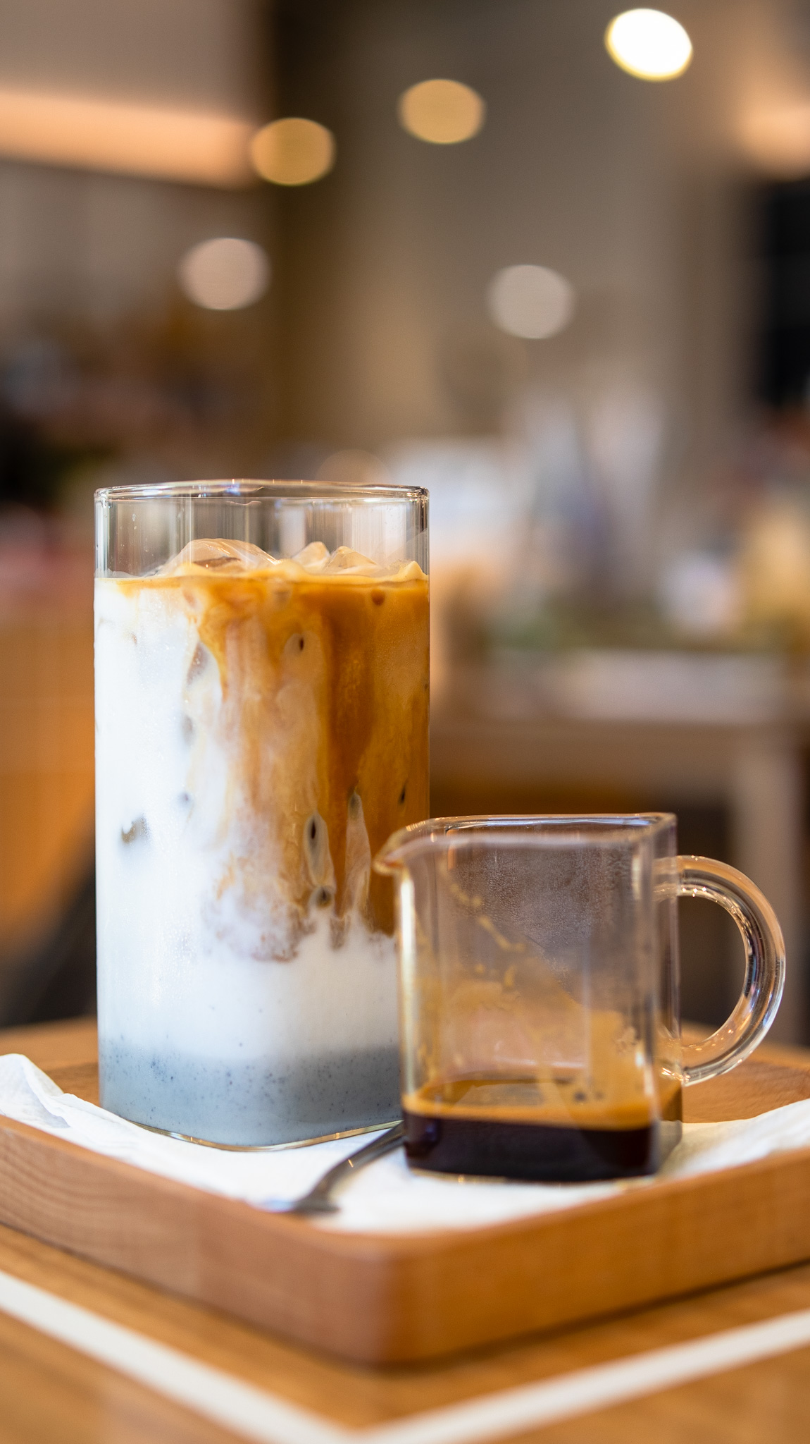 Cafe Zero Point Six Black Sesame Iced Coffee